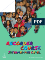 Recorder Course for Beginners - English - Intermediate Level - Reduced