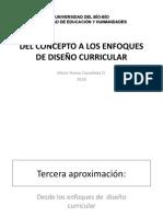 TERCERA APROXIMACIÓN, E. ACADEMICISTA