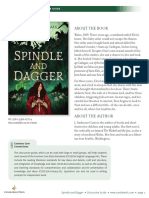 Spindle and Dagger by J. Anderson Coats Discussion Guide