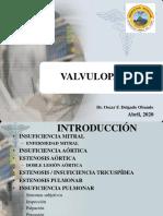 VALVULOPATÍAS - SEMIO - OFDO 2020-I (2)