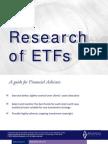 Research of ETFs
