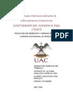 CONSTITUCION,CONFIGURACION Y REGISTRO DE LOS SINDICATOS EN AMERICA LATINA