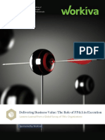 Delivering business value - the role of FPA in execution