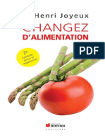 Changez dalimentation - Joyeux Henri