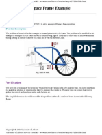 Bicycle Space Frame