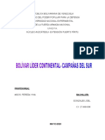 BOLIVAR LIDER CONTIENENTAL