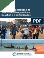 Relatório do Banco Mundial sobre a redução da pobreza em Moçambique