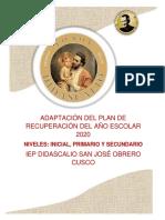 PLAN DE ADAPTACIÓN DE RECUPERACIÓN DE CLASES PARA PADRES DE FAMILIA.pdf