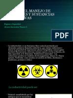 Riesgos Del Manejo de Materiales y Sustancias Radioactivas Hys