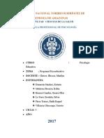 Programa Psicoeducativo  (MODELO)