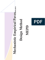 Mechanistic Emperical Design Method(1)
