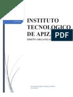 Diseño organizacional CRISTIAN EDUARDO VAZQUEZ HUERTA