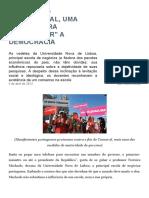 """Em Portugal, Uma Escola Para """"Consertar"""" a Democracia – Le Monde Diplomatique"""