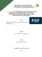 TÉCNICAS GRAFO-PLÁSTICAS Y SU INFLUENCIA EN EL DESARROLLO DE LA MOTRICIDAD FINA .pdf