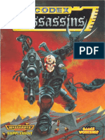 40k 2ed Assassins Codex