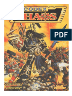 40k 2ed Chaos Codex