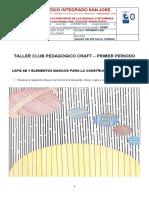 TALLER CLUB PEDAGOGICO CRAFT NOVENO CLEI PRIMER PERIODO.docx