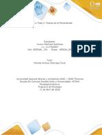 Fase 2- Teorias de la personalidad