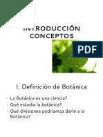 2. CONCEPTOS DE BOTÁNICA