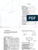 Manual de usuario Motor WJKMP201-WJKMP202