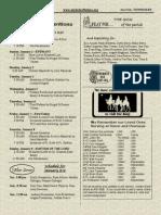 January 2, 2011 Bulletin