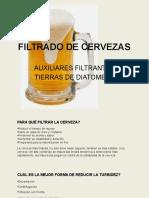 FILTRADO DE CERVEZAS
