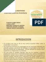 Innovacion y Creatividad-Diplomado Docencia Universitaria