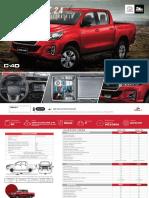 Ficha Técnica - Ficha Técnica Toyota Hilux 2.4L (1)