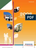 Rapport RSE 2008 - Promologis