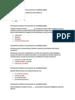 Armonización estándares internacionales de contabilidad pública