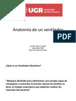 Anatomía del respirador mecánico