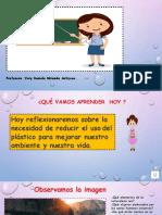 REDUCIR EL USO DE PLASTICO