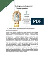 Formación Religiosa 5 VIRGEN DE GUADALUPE 2020