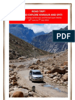 Road Trip to Kinnaur & Spiti