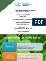 Actividad Formativa #1 KOSEI FARMA - David De Los Santos