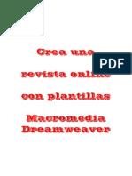 Crea Una Revista Online Con Plan Till As Dream Weaver