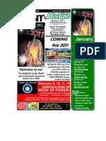 January 2 2011 Newsletter One Half Version