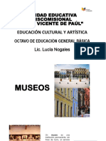 MUSEOS 8 EGB ECA 28-04-2020