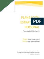 Planeación estratégica personal UVEG