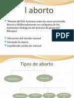 ABORTO PRESENTACION