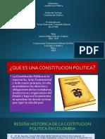 DIAPOSITIVAS CONSTITUCION POLITICA