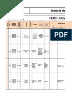 FT-SST- 130 Modelo de Matriz IPERC