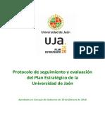 Protocolo Seguimiento Plan Estratégico WEB