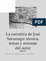 José Saramago y su tecnica