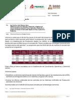 Reducción de Producción por Estretegia Comercial (23-abr-20)
