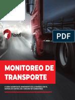 ESCORT MONITOREO DE COMBUSTIBLE Nanti