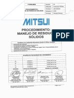 P-SSM-MRS Manejo Residuos Sólidos 2017