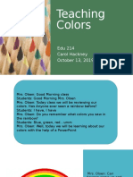 teaching colors pp
