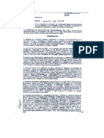 ARTICULACION-Resolución 3574-05-2010