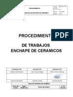 P.SG.S.A.17.P.13 Procedimiento ENCHAPE